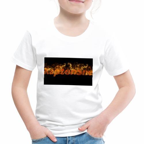KaptenSne Burning - Premium-T-shirt barn