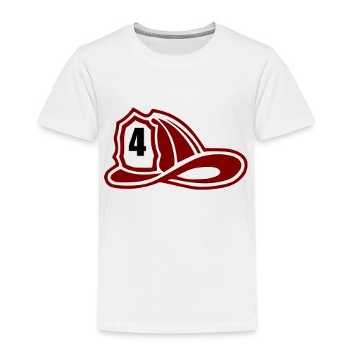 Brandweerman helm - Kinderen Premium T-shirt