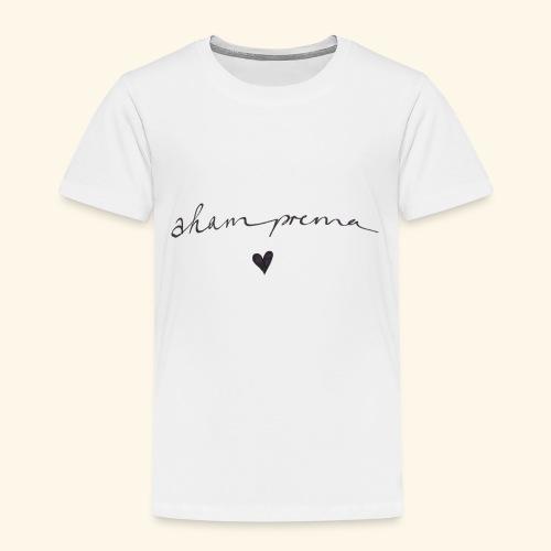 AHAM PREMA- ich bin LIEBE Geschenk YOGA SANSKRIT - Kinder Premium T-Shirt