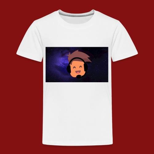 ProfilBild RymdBakgrund - Premium-T-shirt barn