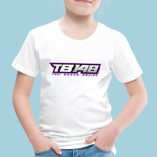 Tob Logo Lila - Kinder Premium T-Shirt