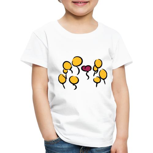 Balloons - Kinder Premium T-Shirt