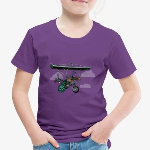 Flight of the Peacock - Kids' Premium T-Shirt