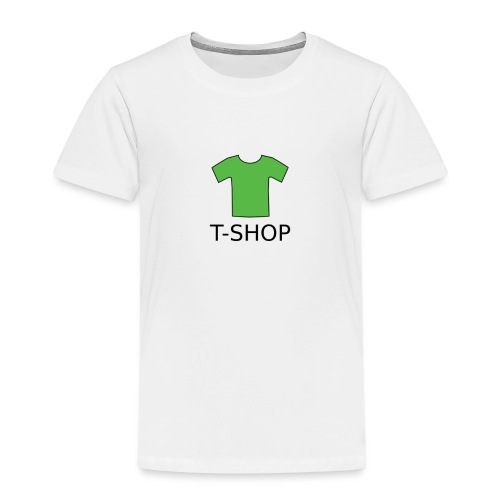 T-SHOP LOGO - Kinder Premium T-Shirt