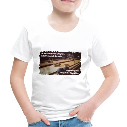 Shirt Screaming Walls - Kinderen Premium T-shirt