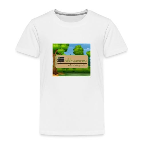 Unser Schildlogo - Kinder Premium T-Shirt