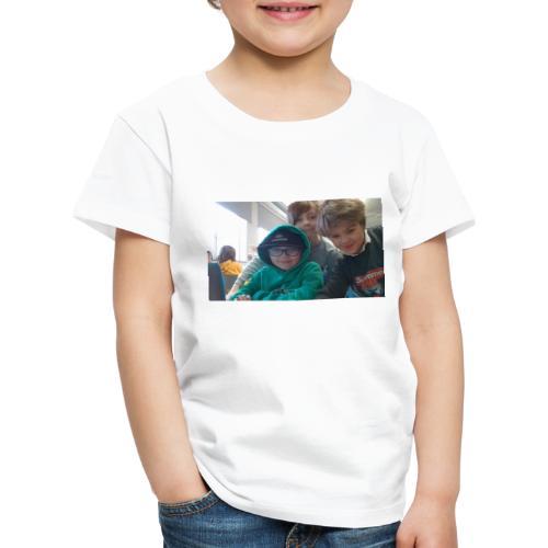 hihi - Premium-T-shirt barn