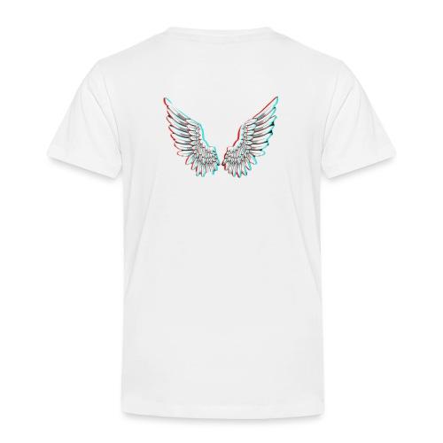 Angelic Wings Trainer Jacket - Kinder Premium T-Shirt