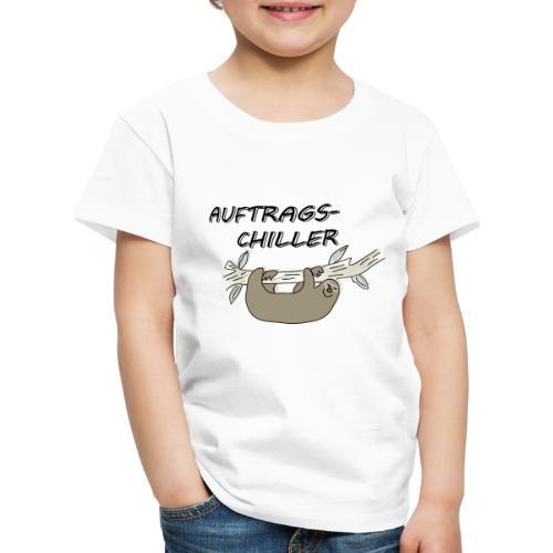 Faultier Auftragschiller - Kinder Premium T-Shirt