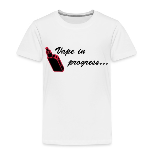 Vape In Progress 2... Jaune - T-shirt Premium Enfant