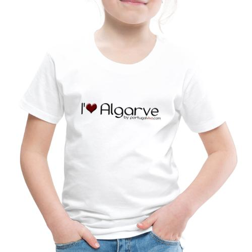 I Love Algarve - T-shirt Premium Enfant