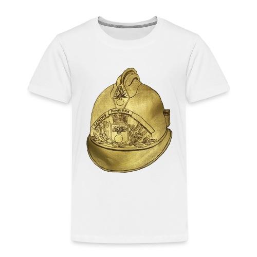 Casque pompier - T-shirt Premium Enfant