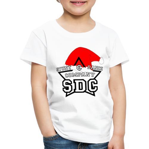 SDC Logo Black Christmas - Kinder Premium T-Shirt