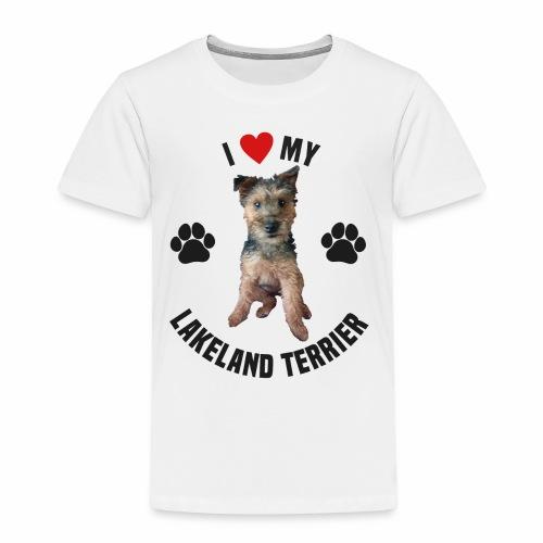 I heart my lakeland terri - Kids' Premium T-Shirt