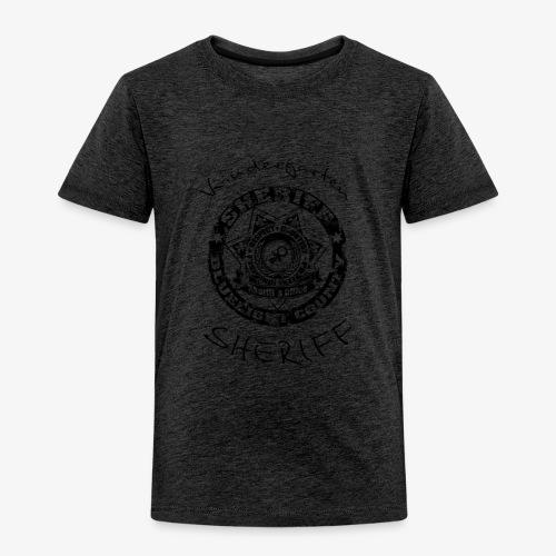 kindergarten sheriff schwarz - Kinder Premium T-Shirt
