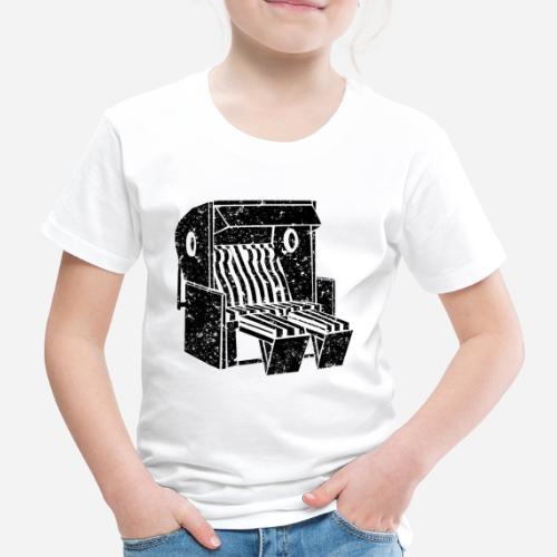 Strandkorb Illustration von Clarissa Schwarz - Kinder Premium T-Shirt