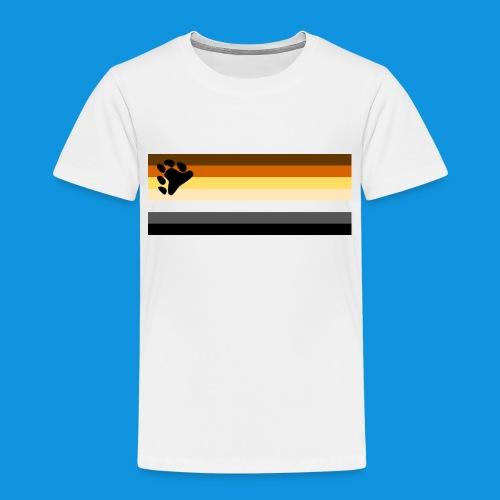 Bear Flag tank - Kids' Premium T-Shirt