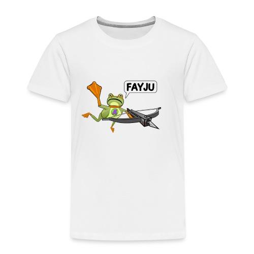 Amazing Frog Crossbow - Kids' Premium T-Shirt
