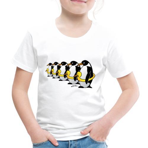 Pinguine mit Quietscheentchen - Kinder Premium T-Shirt