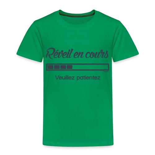 Réveil en cours (H) - T-shirt Premium Enfant