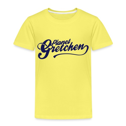 Planet Gretchen svart - Premium-T-shirt barn