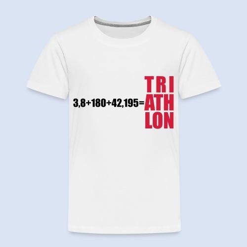 Triathlon Swim Bike Run - Kinder Premium T-Shirt