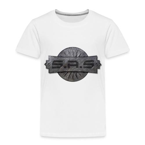 metal background scratches surface 18408 3840x2400 - Kinderen Premium T-shirt