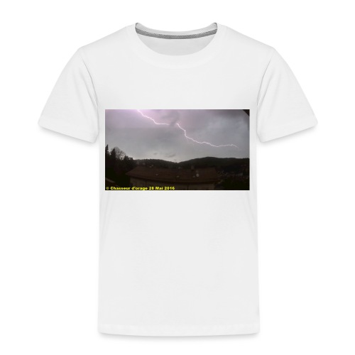 6é photo de l orage du 28 mai 2016 JPG - T-shirt Premium Enfant