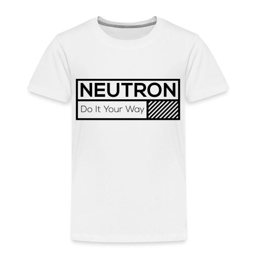 Neutron Vintage-Label - Kinder Premium T-Shirt