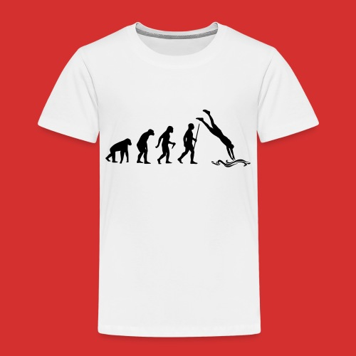 T-Shirt Cliff jumping - T-shirt Premium Enfant