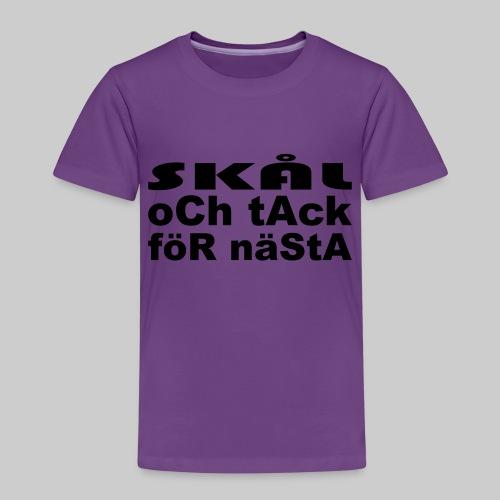 Skål Och Tack - Premium-T-shirt barn