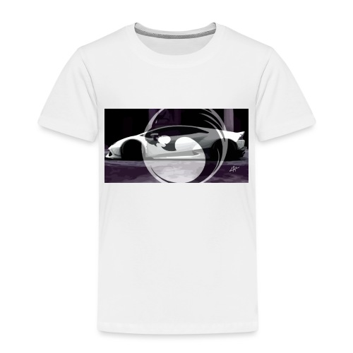 lion black lyon design - Kids' Premium T-Shirt
