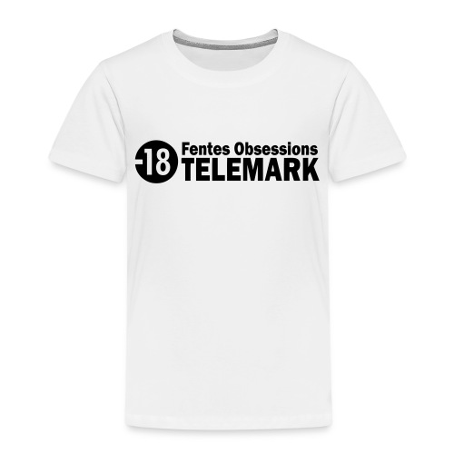 telemark fentes obsessions18 - T-shirt Premium Enfant