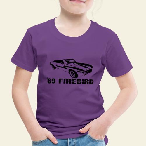 firebird small - Børne premium T-shirt