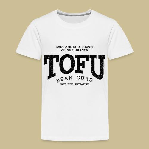 Tofu (black oldstyle) - Kinder Premium T-Shirt