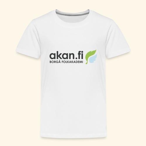 Akan Black - Premium-T-shirt barn