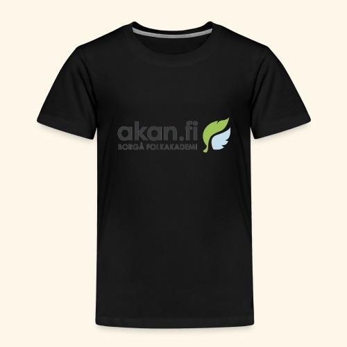 Akan Black - Lasten premium t-paita