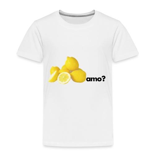limoni_amo - Maglietta Premium per bambini