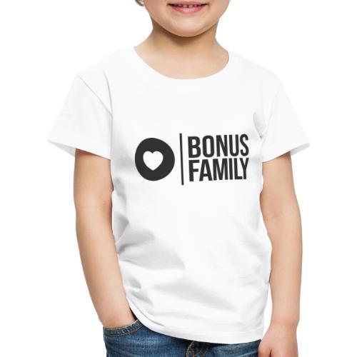 Bonus Family Design and Marketplace - Lasten premium t-paita