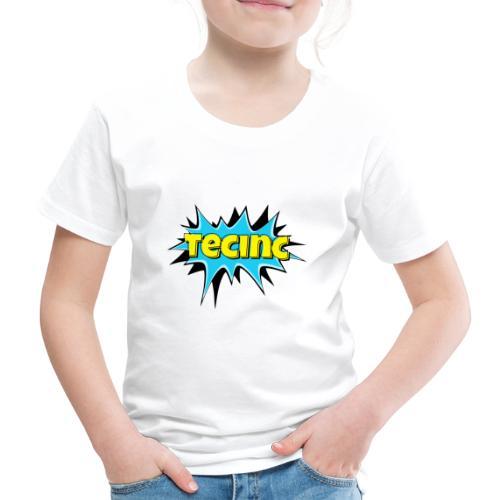 Cartoon logo - Børne premium T-shirt