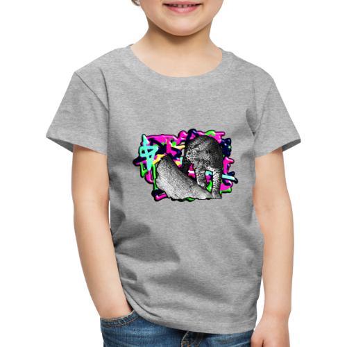 Leopard auf Bunt - Kinder Premium T-Shirt