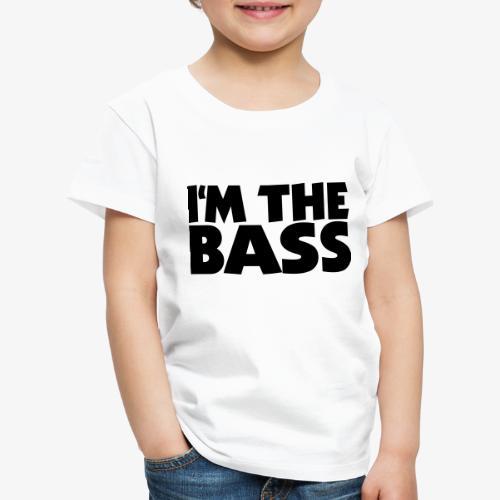 I'm the Bass 2 für Bassisten und Tieftöner - Kinder Premium T-Shirt