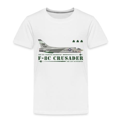 F-8C Crusader VMF-333 - T-shirt Premium Enfant