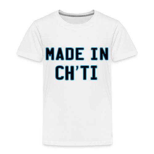 made in ch'ti - T-shirt Premium Enfant