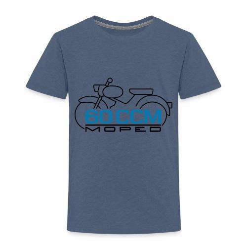 Moped sparrow 60 cc emblem - Kids' Premium T-Shirt