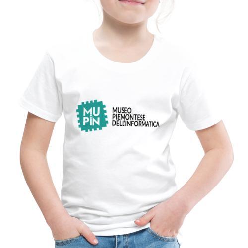 Logo Mupin con scritta - Maglietta Premium per bambini