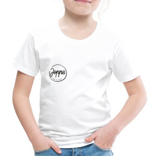 Jeppe liten logo - Premium T-skjorte for barn