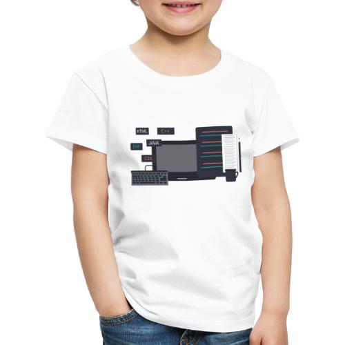 Developer set! - Koszulka dziecięca Premium