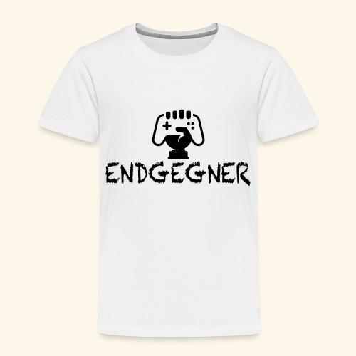 Endgegner Konsole zocken online twitch gamer - Kinder Premium T-Shirt