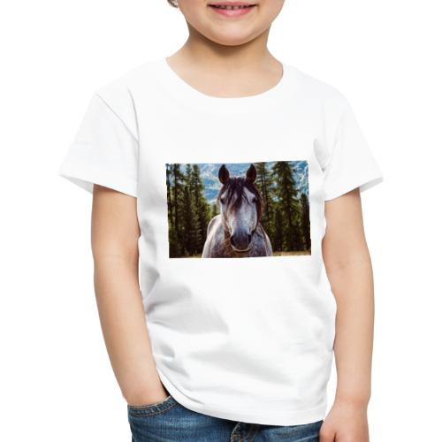 Nature Horse by #CreativeArts - Kinder Premium T-Shirt